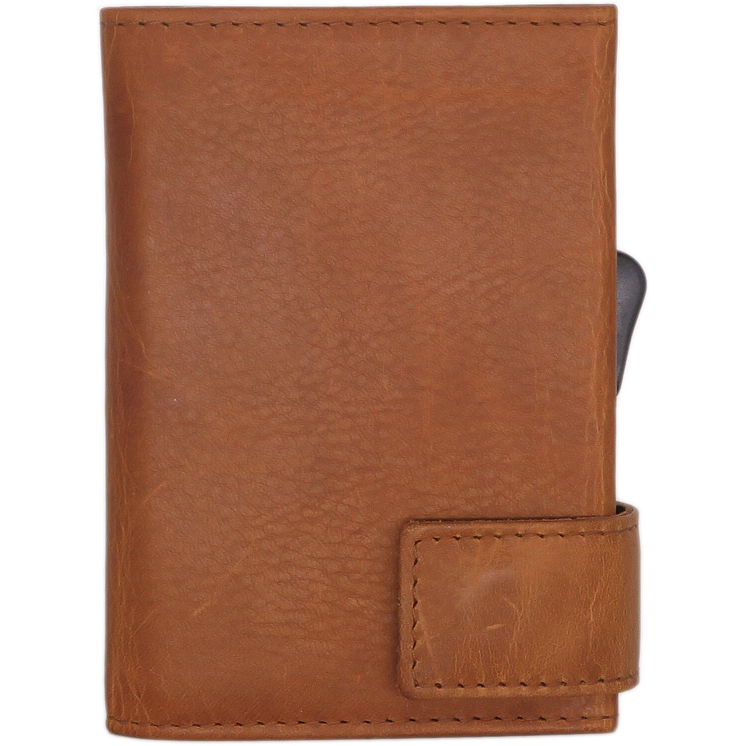 9dc7e31a7b8f7 SecWal SecWal 1 Kreditkartenetui Geldbörse RFID Leder 9 cm cognac ...
