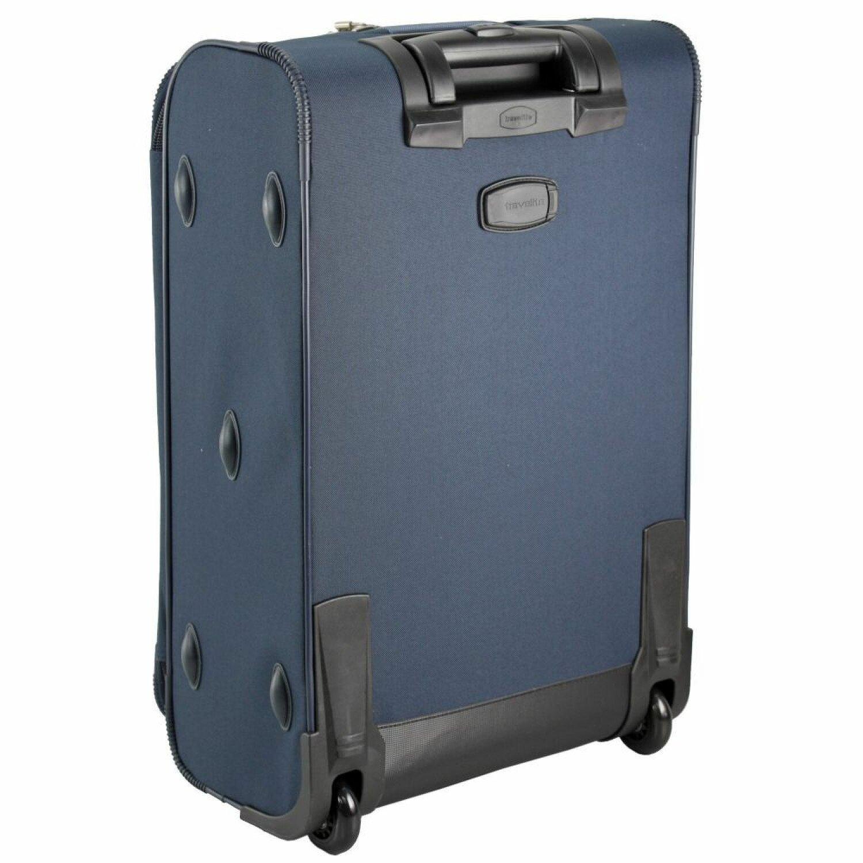 travelite orlando 2 rollen kofferset 4tlg schwarz koffer. Black Bedroom Furniture Sets. Home Design Ideas