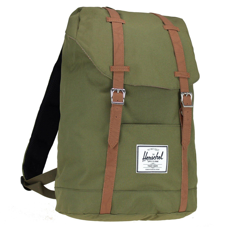 ... Herschel Retreat Backpack Rucksack 42 cm Laptopfach black ...