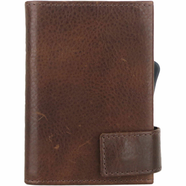 01ef099e84703 SecWal SecWal 2 Kreditkartenetui Geldbörse RFID Leder 9 cm braun ...