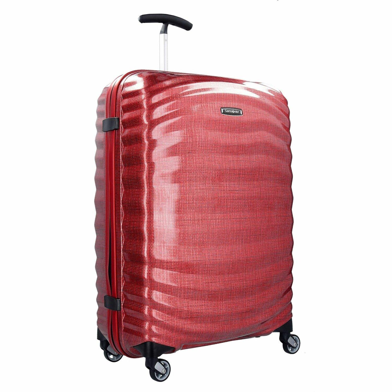 samsonite lite shock spinner 4 rollen trolley 69 cm sand koffer. Black Bedroom Furniture Sets. Home Design Ideas