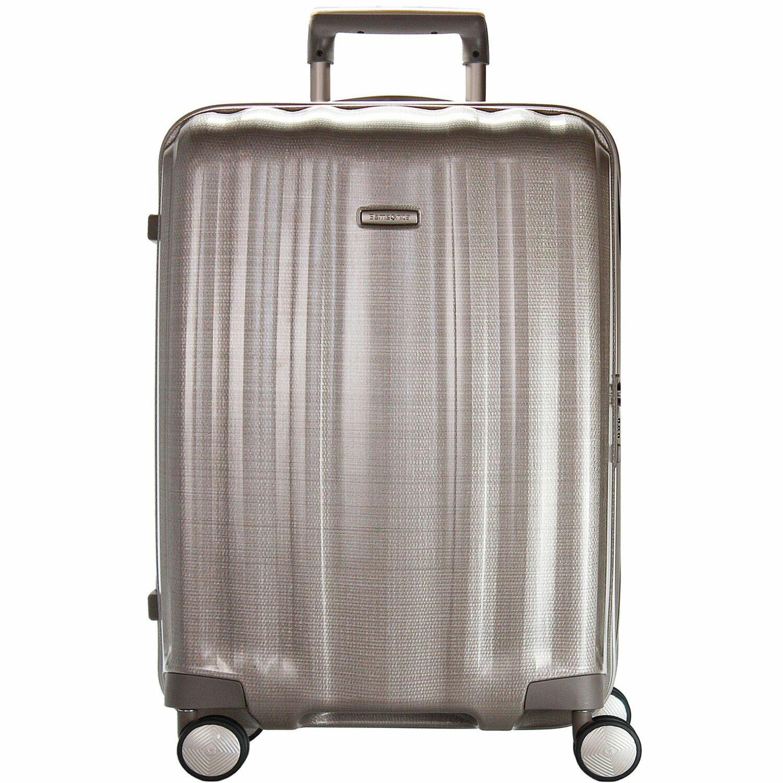 samsonite lite cube spinner 4 rollen trolley 82 cm ivory goldcolored koffer. Black Bedroom Furniture Sets. Home Design Ideas