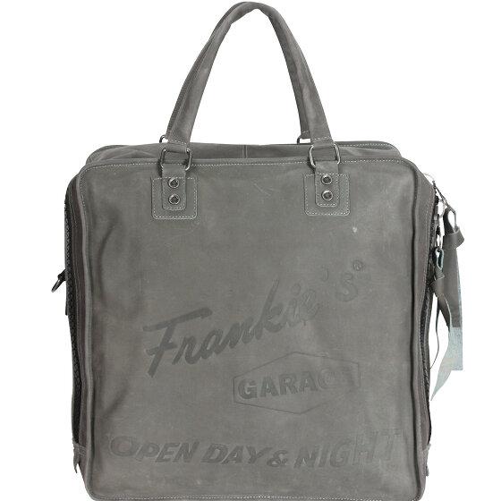 Frankies Garage Record Bag Henkeltasche 40 cm grey