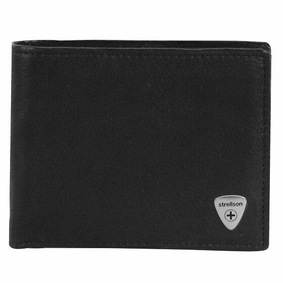 Strellson Harrison Geldbörse Leder 12cm black