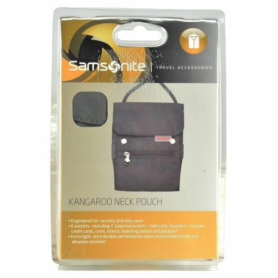 Samsonite Travel Accessories Kangaroo Brustbeutel 13cm graphite
