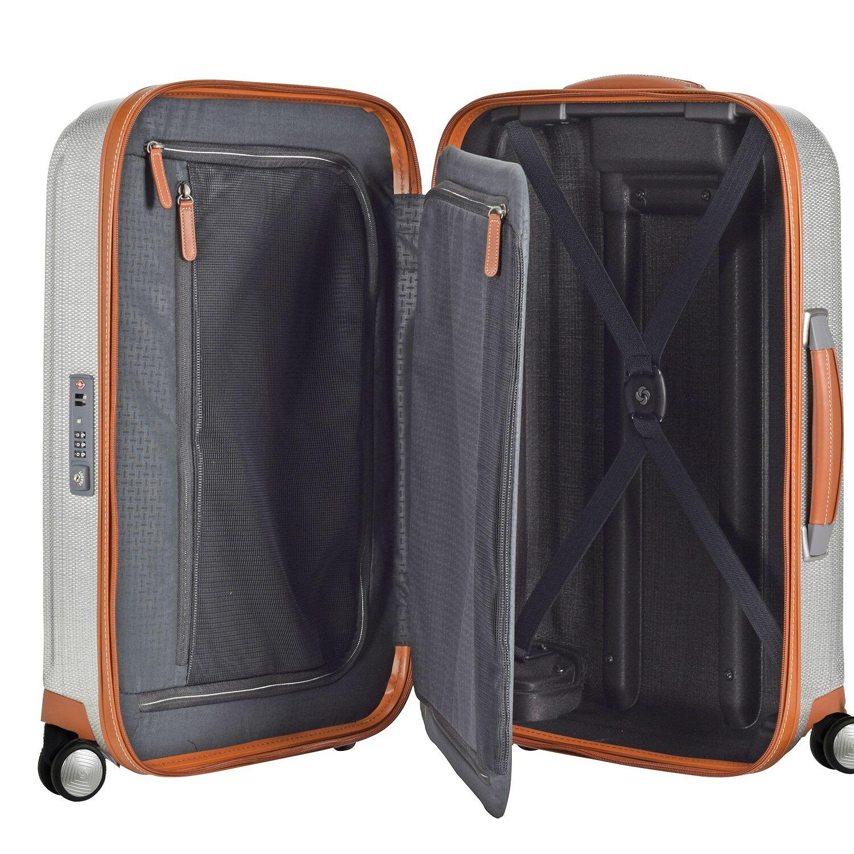 samsonite lite cube dlx spinner 4 rollen trolley 68 cm eclipse grey koffer. Black Bedroom Furniture Sets. Home Design Ideas