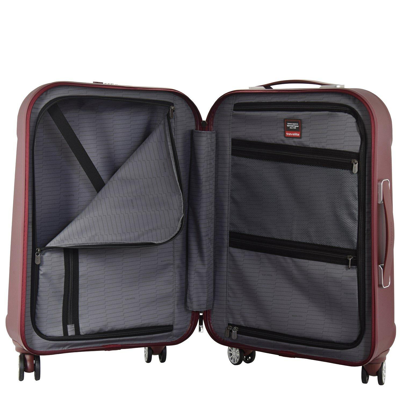 travelite elbe two 4 rollen trolley 70 cm anthrazit koffer. Black Bedroom Furniture Sets. Home Design Ideas