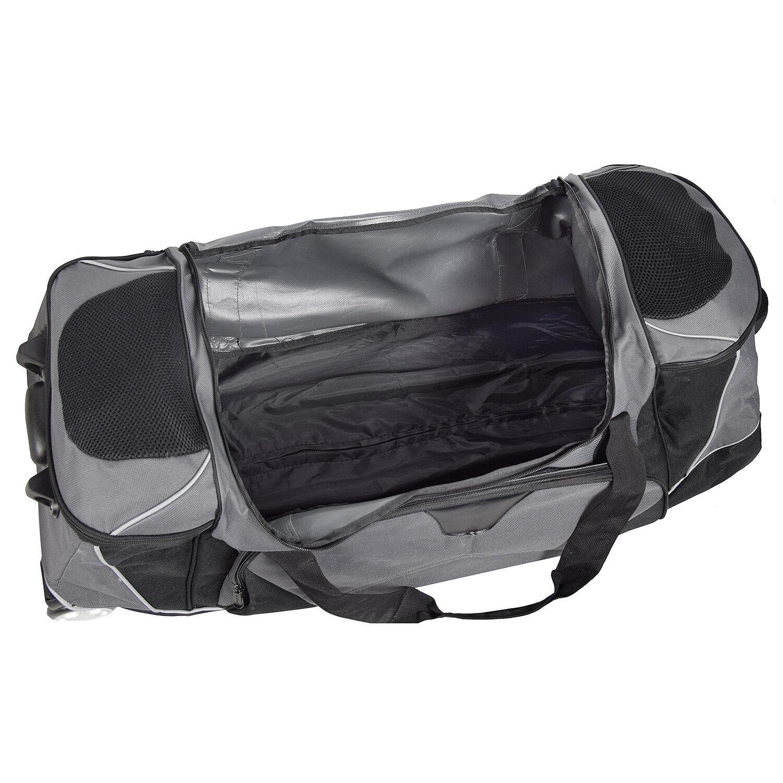 dermata reisetasche xxl rollenreisetasche 95 cm schwarz koffer. Black Bedroom Furniture Sets. Home Design Ideas