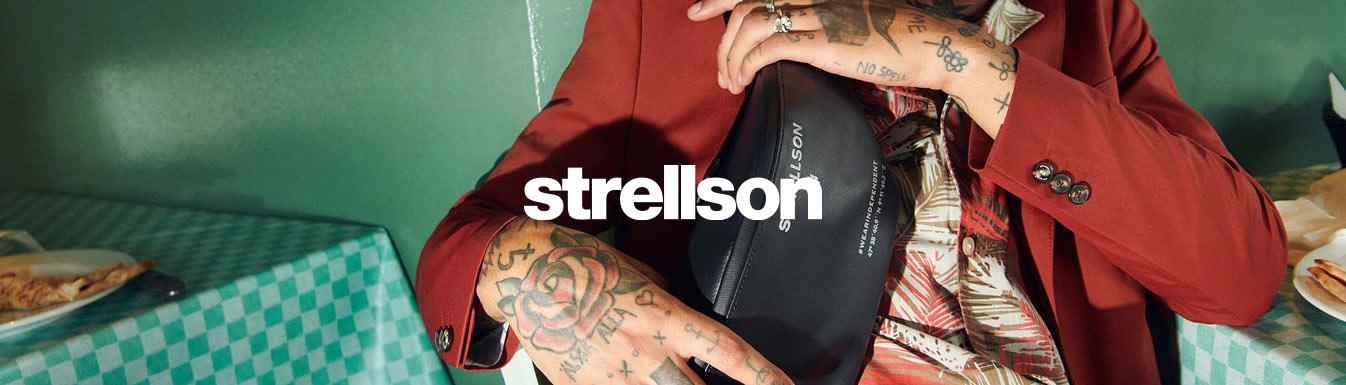 27e786522ec0e Strellson Tasche Messenger Umhängetasche aus Leder